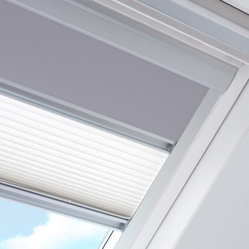 Store jour et nuit pour fenêtre de marque Velux® dimensions CK02