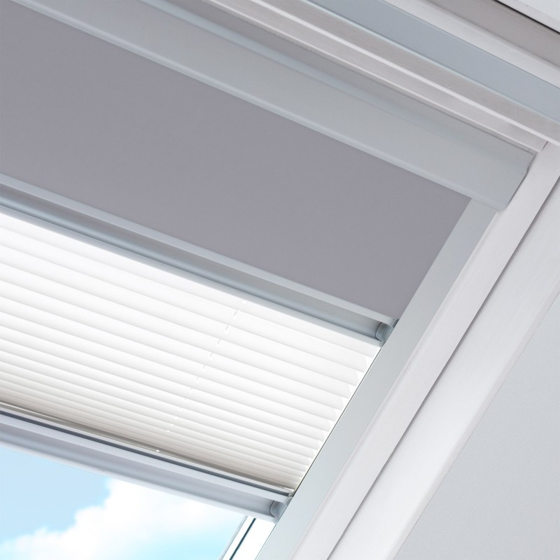Store jour et nuit pour fenêtre de marque Velux® dimensions MK06