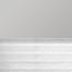 Occultant gris / Plissé blanc