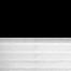 Occultant noir / Plissé blanc