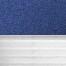 Occultant bleu / Plissé blanc